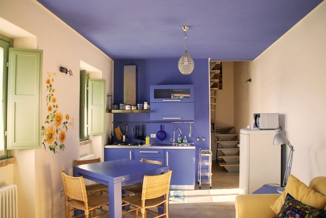 Keuken appartement Tramonto