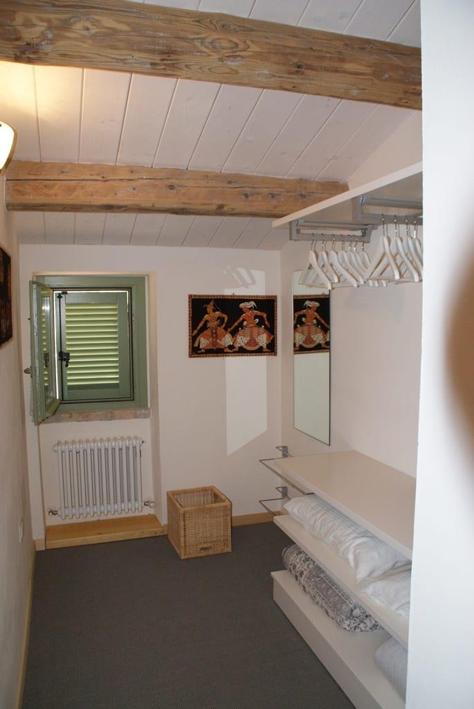 Slaapbank in woonkamer Appartement Aurora