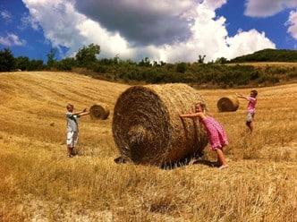 Boogschieten op agriturismo Vellaneta